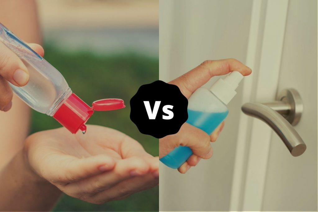 Sanitize vs Disinfect